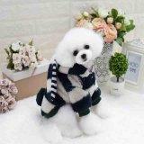 추운 기후에 있는 중소 개를 위한 온난한 덧대진 개 조끼 재킷 외투 의복 옷