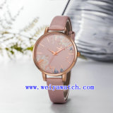 Hot Sale Watch occasionnels en acier inoxydable Mesdames Watch (WY-17036B)