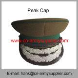 卸し売り安い中国の軍隊の金糸の憲兵は帽子を統率する
