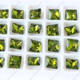 juwelen van het Kristal van de Steen Capri van 8*8mm de Blauwe Buitensporige in Massa