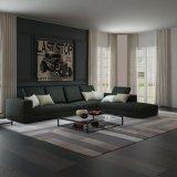 Sofà sezionale riempito basso moderno per il salone