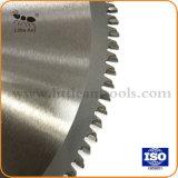 250*100t Tct métallique en aluminium de coupe Lames de scie circulaire