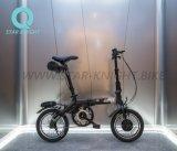 Bici eléctrica de la carpeta de Kupper Rubik con calidad de la batería de ion de litio de Panasonic buena