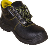 Новые модные ботинки безопасности неподдельной кожи с стальной крышкой пальца ноги