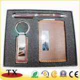 Business Gift Sets for Name Card Holder and Key Chain Sets