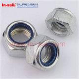 Гайки DIN стандартные пластичные Nuts Nylon для механически оборудования