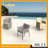 Restaurant Hotel Outdoor cuir synthétique du rotin Chaise en rotin jardin Meubles de salle à manger de loisirs