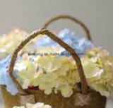 I fiori artificiali della decorazione domestica scelgono il Hydrangea all'ingrosso dei fiori di seta di visione delle teste