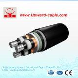 Câble blindé d'alliage d'aluminium de pouvoir