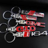 금속 Keychain의 주문 선전용 선물 다른 유형