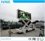 Solar Solution를 가진 녹색 Product Outdoor Mobile LED Display