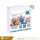 Premium tissu lisse stratifié avec housse de matelas imperméable en PVC