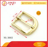 Curvaturas de correia do ouro do metal da alta qualidade para as peças do saco