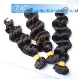 Grade 3 d'un tissage de Cheveux humains indiens