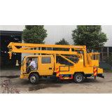 14mの空気働きのトラックの空気のバケツのトラックかトラックによって取付けられる空気作業プラットホームの/Aerialの働きプラットホーム