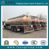 Sinotruk HOWO T5g 8X4の給油車18000Lのアルミニウムオイルタンクのトラック