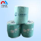 Tissu de papier de toilette de roulis de pulpe de Vierge