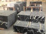 De kosmische Zwarte Tegels van de Vloer van de Treden van het Onyx van het Graniet Zwarte Tegel Gezwoegde