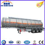 Reboque de alumínio de aço personalizado do depósito de gasolina da alta qualidade 3-Axle