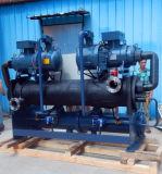 Охладитель винта конденсатора раковины и пробки охлаженный водой с большой охлаждая емкостью