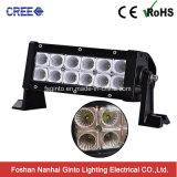 방수 처리하십시오 플러드 또는 반점 광속 36W 크리 사람 차 LED 표시등 막대 (GT31001-36CR)를
