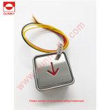 Botão de pressão do elevador para Kone Size 34,5*34,5 (SN-PB210) 12V 24V 48V