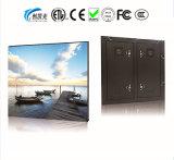 Cores interior P3mm fixa display LED digital video wall.