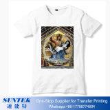 Maglietta in bianco di sublimazione per il maschio/femmina/capretti