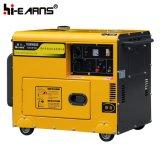 De luchtgekoelde Stille Diesel van het Type Enige Fase van de Generator (DG4500SE)
