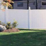 La norma europea jardín vallado de PVC