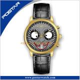 Nuevo reloj del cuarzo de Personifacation con el movimiento de Ronda 3 Subdial