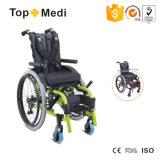 Medizinisches Krankenhaus-Geräten-Aluminium, das manuellen Kind-Rollstuhl für zerebrale Lähmung-Kinder anpaßt