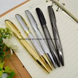 Het Metaal Verdraaide Pen van de van de Bedrijfs ballpoint Embleem van uitstekende kwaliteit van de Douane van de Gift voor Bevordering (Lt.-L454)