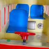 Giri a gettoni della macchina del gioco di divertimento dei giocattoli della vetroresina di giro del Kiddie del bus di Londra per i capretti