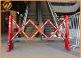Barrière de plastique de haute qualité extensible pour la sécurité du trafic