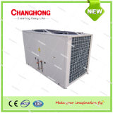 O ar refrigerou o condicionador de ar rachado canalizado