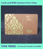 Salão de Cabeleireiro Card feitos de PVC CR80 Cmyk Padrão
