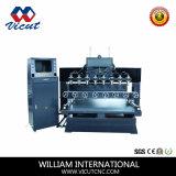 Machine de découpage rotatoire de commande numérique par ordinateur de travail du bois de 8 têtes (VCT-TM2515FR-8H)