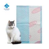 인쇄한 동물의 발을%s 가진 접힌 Eco-Friendly 개 애완 동물 오줌 패드가 ISO9001에 의하여 증명서를 줬다