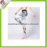 最新の方法ヨガのための粋な昇華印刷の女性Legging