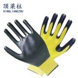 Preiswerte Polyester-Nitril-Handschuhe des Preis-Fabrik-Grossist-13G mit Cer