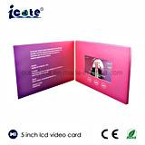 Muito bela 5 polegadas Cartões Brochurevideo Vídeo/Folheto de negócios