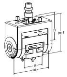 a-One Erowa EDM EDM 기계 (3A-300050)를 위한 소형 기우는 선반 물림쇠