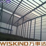 Magazzino facile industriale della struttura d'acciaio dell'installazione del calibro chiaro prefabbricato