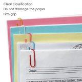 Clip de papel recubierto de PVC