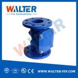 Vérification du disque de pivotement de la vanne de système d'eau