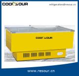 Congelador refrigerando do congelador da caixa do compressor