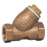 Válvula de bronze do filtro com a qualidade superior feita em Taizhou