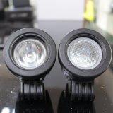 10W lampada di inondazione dell'indicatore luminoso del lavoro del CREE LED che conduce il crogiolo ATV di motociclo dell'automobile della nebbia 12V