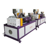 플라스틱 3 색깔 모조 등나무 생산 라인 고속 압출기 기계